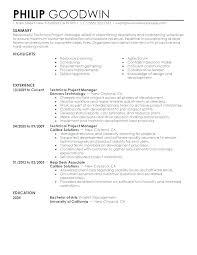 Resume Modern Te Sample Modern Resume In Word Examples Example Template Samples