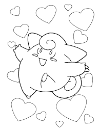 Pokemon Coloring Pages Kids Coloring Pages 14 Free Printable