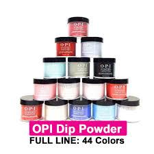 Opi Dip Powder Perfection 1 5oz Full Line 44 Colors