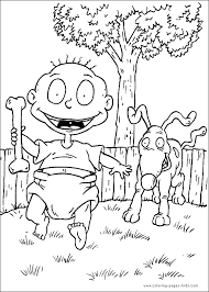Small Picture Rugrats color page Cartoon Color Pages printable cartoon