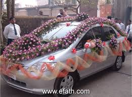 Wedding Car Decorate Image Detail For Indian Wedding Car Decoration Indian Wedding Car