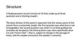 sonnet analysis essay powerpoint templates custom sonnet 116 analysis essay