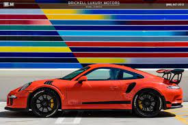 January, february, september, october, november, december are good times to buy to find the best prices. Used 2016 Porsche 911 Gt3 Rs For Sale 166 000 Brickell Luxury Motors Stock L2972
