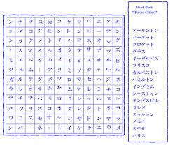 Printable Japanese Alphabet Chart Joshu Japanese Online Self Help Utility