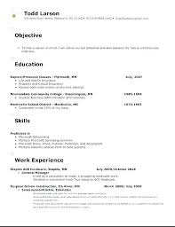 Business Resume Objective Management Resume Objective Examples Emelcotest Com