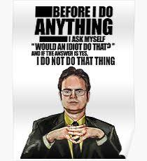 the office posters. The Office - Dwight K. Schrute Poster Posters I
