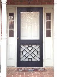 front screen doorI need a 8 ft h x 36  w front screen door in black