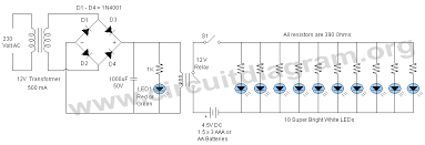 led lighting circuit diagram the wiring diagram power failure light circuit diagram circuit diagram