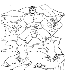 Small Picture Incredible Hulk Coloring Pages Printable