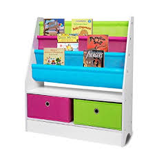 Wooden Book Display Stand Amazon TopHomer Children Sling Bookshelf Bookcase With 100 75