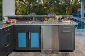 outdoor kitchen sink cabinets