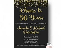 cheers to 50 years invitation 50th anniversary invitation printable 50th wedding anniversary invitations glitter 50 anniversary