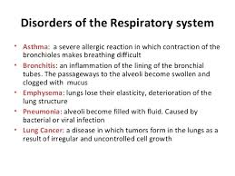 b sc micro biotech ii animal plant physiology unit respirator   39 disorders of the respiratory system