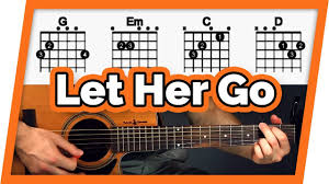 Let It Go Chord Chart Let Her Go Guitar Tutorial Passenger Easy Chords Guitar Lesson