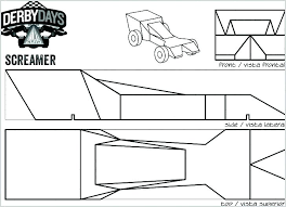 pinewood derby blank template. Pinewood Derby Templates Blank Car Inspirational Cool Plans Free Te