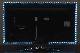 bias lighting led strip lights on tv