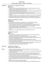 Ad Product Manager Resume Samples Velvet Jobs