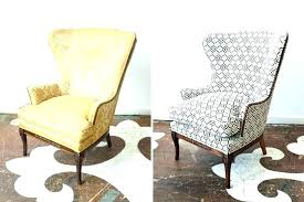 reupholster antique chair rocking