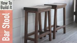 How to Build a Counter Height Bar Stool with a Curved Seat for $10