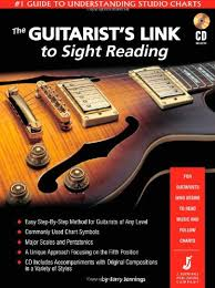 The first thing you reading music for guitar: The Guitarist S Link To Sight Reading 1 Guide To Understanding Guitar Studio Charts Book Cd Jerry Jennings 9780970003805 Amazon Com Books