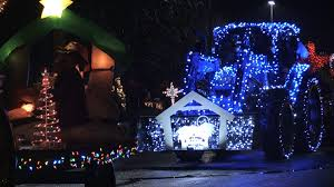 Christmas Lights In Elmira Ny Linesville Lighted Tractor Parade Becomes Largest In Country