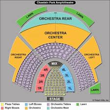 Chastain Park Amphitheatre Seating Chart Chastain Seating Chastain Park Amphitheatre Seating Chart