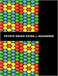 Individual Graph Paper Peyote Graph Paper For Beadwork Specialized Graph Paper For