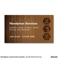 handyman business free business card templates for a handyman business careers