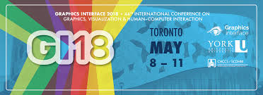 Design Conference Toronto 2018 Graphics Interface 2018 Gi 18 Conference May 8 11
