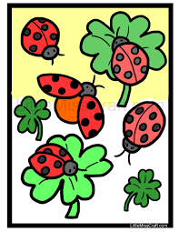 Crafts - Ladybug Coloring Page