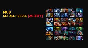 skin mod dota 2 mod set all heroes agility