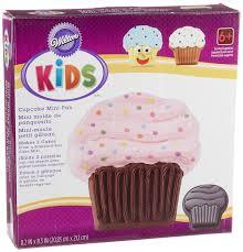 Amazoncom Wilton Kids Cupcake Mini Cake Pan Novelty Cake Pans
