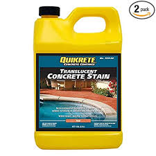 Quikrete Concrete Stain Colors Chart Quikrete Translucent Concrete Stain Red Gal 2pack