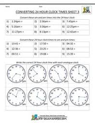 14 Best 24 Hour Clock System Images Teaching Math 24 Hour