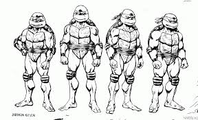 Small Picture Free Ninja Turtle Coloring Pages akmame