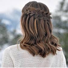 شلال رائع جديلة تصفيفة الشعر يمكنك ان تجعل نفسك موقع