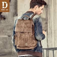 <b>DIDE</b> Leather Shoulder Bags For <b>Men</b> Casual Vintage Brand <b>Mens</b> ...