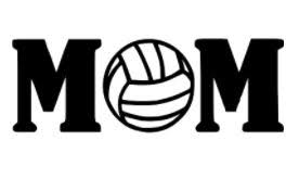 Volleyball Word Mom Volleyball Word Vinyl Decal Cargoh