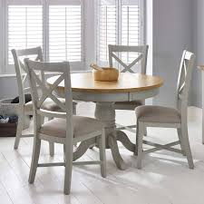 bordeaux painted light grey round extending dining table 4 chairs with regard to designs 12