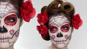 easy sugar skull day of the dead makeup tutorial for shonagh scott showme makeup you