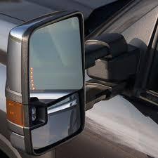 88-98 Chevy GMC Yukon Tahoe Tow Mirrors CHROME Power+LED Signals ...