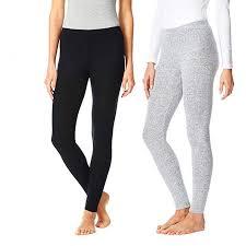 32 Degrees Heat Base Layer Size Chart 32 Degrees Heat Womens 2 Pack Lounge Leggings