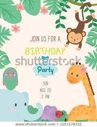 Jungle Theme Birthday Invitations Jungle Theme Birthday Party Invitations Yupar Magdalene