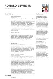 Technical Recruiter Resume samples