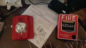 how to wire a fire alarm to pull station youtube hc-1120 bell wiring at 120v Fire Alarm Bell Wiring Diagram