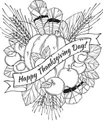 The First Thanksgiving Coloring Pages Glandigoartcom