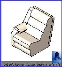 left recliner coaster sectional sofa rf