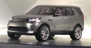 2015 Land Rover Discovery previewed by Vision Concept - Photos