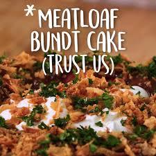 How To Make A Meatloaf Bundt Cake