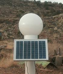 picture of make a solar powered led lamp post light
